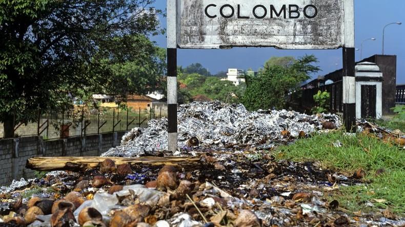 Mindestens elf Menschen sterben bei Mülllawine in Sri Lanka