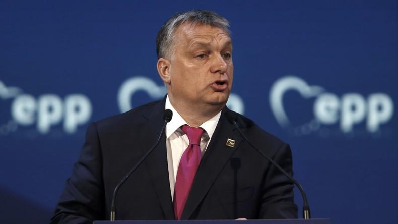 Viktor Orbán wirft George Soros Finanzierung illegaler Einwanderung vor