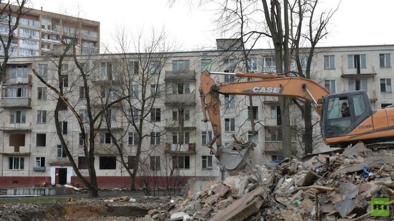 Zwischen Freude und Zweifeln: 1,6 Millionen Moskauer sollen in modernere Wohnungen ziehen