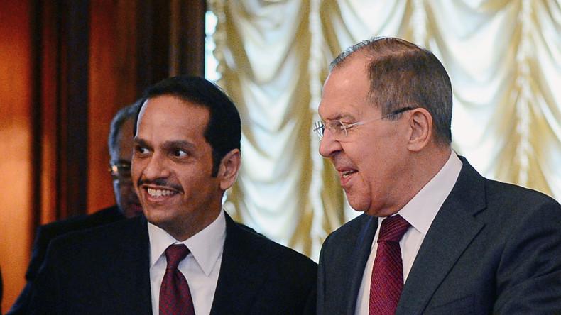 Außenminister von Russland und Katar verhandeln über Syrien-Krise
