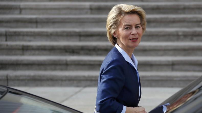 Verteidigungsministerin Ursula von der Leyen plädiert für Blauhelm-Einsatz in Syrien