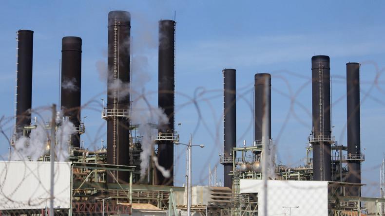 Gazas einziges Kraftwerk wegen Treibstoffmangels abgeschaltet