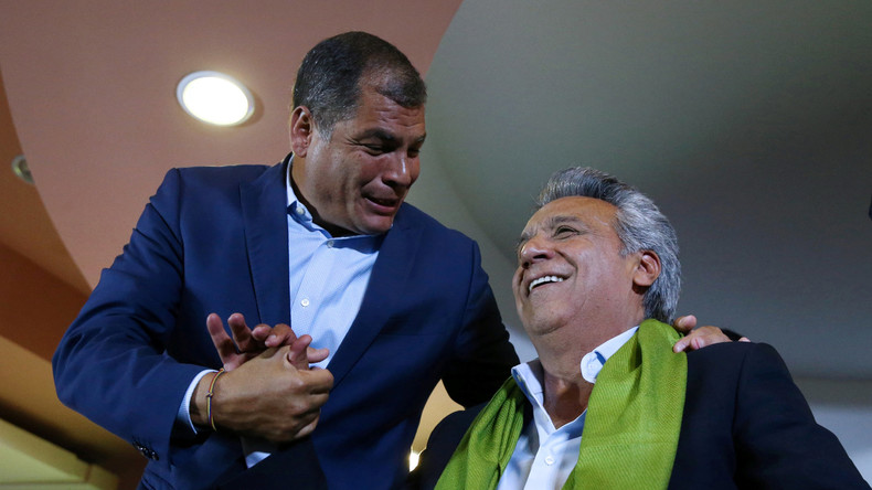 Ecuadors Präsident Rafael Correa ruft Mitbürger zu Anti-Oppositions-Demo auf