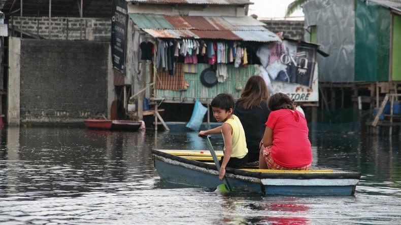 Acht Tote nach Sturzfluten auf den Philippinen