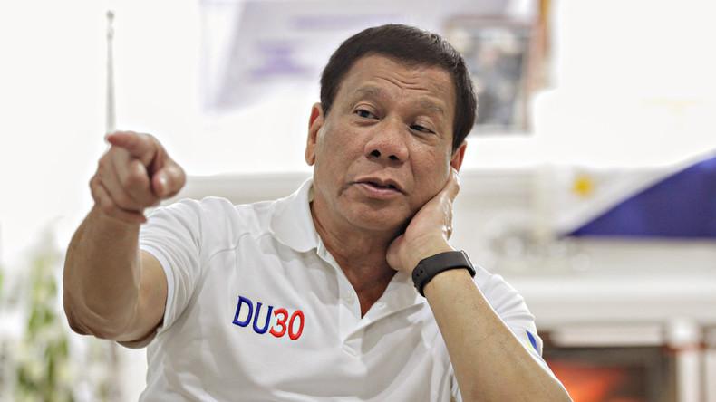 """Duterte vergleicht Trump mit sich: """"Er ist ein pragmatischer Denker"""""""