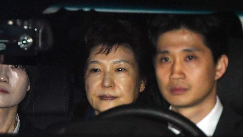 Offizielle Anklage gegen Ex-Präsidentin Südkoreas Park Geun-hye erhoben