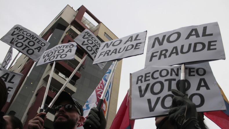 Ecuadors Oberstes Wahlgericht lehnt komplette Neuauszählung nach Stichwahl ab