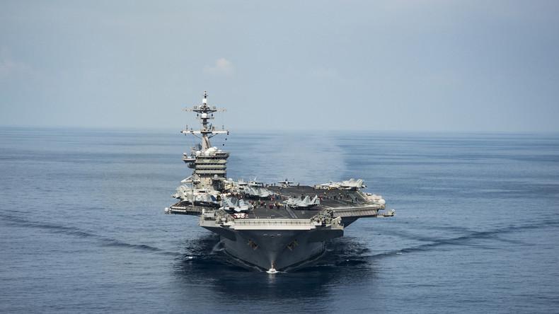 Zuspitzung in Ostasien: USA verlegen zwei weitere Flugzeugträger vor die Küste Nordkoreas