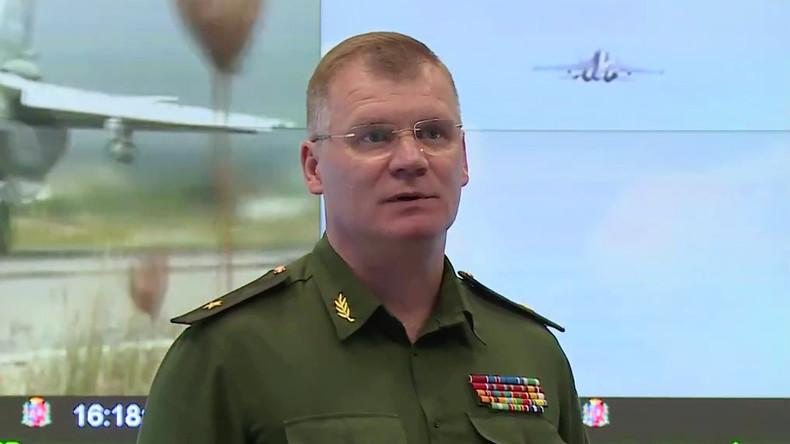 Russlands Verteidigungsministerium fordert Beweise für angeblichen C-Waffen-Einsatz in Syrien