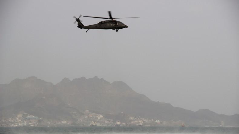 Saudischer Kampfhubschrauber im Jemen abgestürzt  – zwölf Offiziere tot
