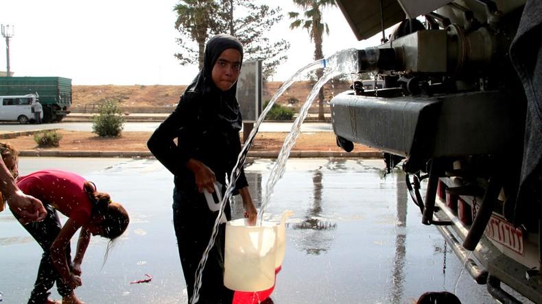 IS-Drohne beschießt Deir ez-Zor, Frau und Kind tot
