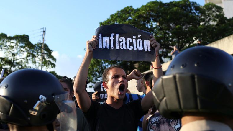 IWF prognostiziert über 2000 Prozent Inflation für Venezuela