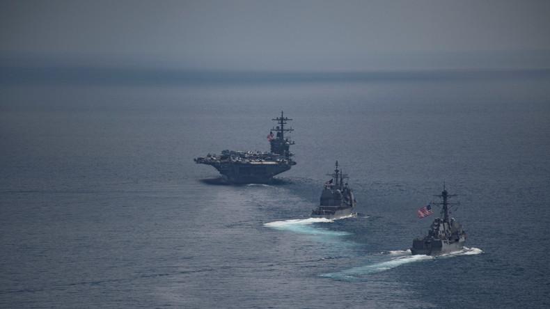 Trump und Pentagon verbreiten Fake-News über Entsendung einer US-Armada - China zeigt sich verärgert