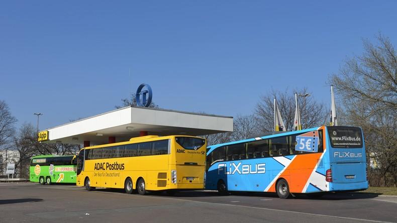 Fahrgastrekord bei Fernbussen zu Ostern in Deutschland