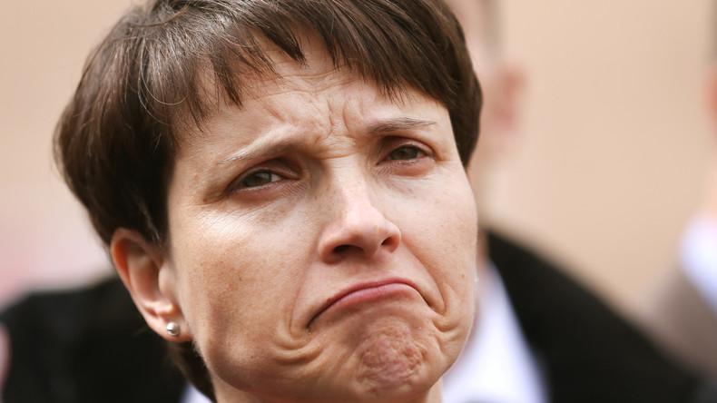 Frauke Petry verzichtet auf Spitzenkandidatur bei Bundestagswahl