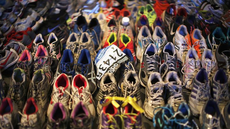 Abteilung Eigentor: Adidas beglückwünscht diesjährige Teilnehmer des Boston-Marathons zum Überleben