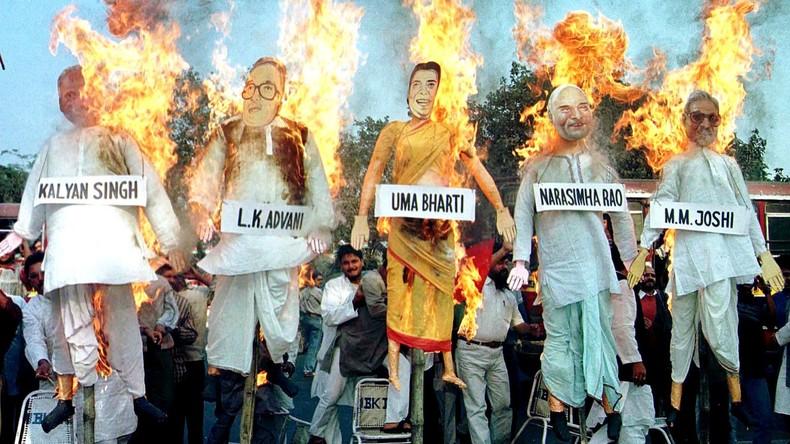 Hochrangige indische Politiker wegen Verschwörung angeklagt