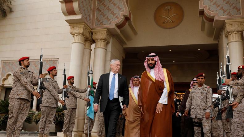 US-Verteidigungsminister in Nahost: Formierung von Anti-Assad-Allianz & Präzisionswaffen für Saudis