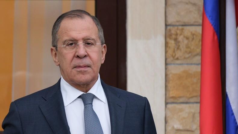 """Sergei Lawrow zu Jean-Marc Ayrault: """"Moskau hält den Vorfall in Chan Schaichun für eine Provokation"""""""