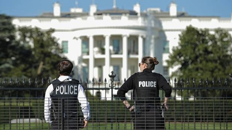 US Secret Service verstärkt Wache am Weißen Haus