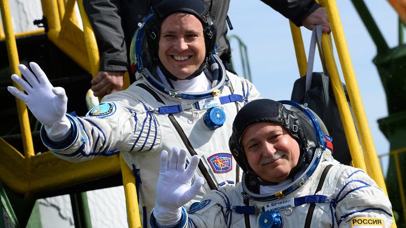Mission Sojus MS-04 mit zwei Raumfahrern zur ISS gestartet
