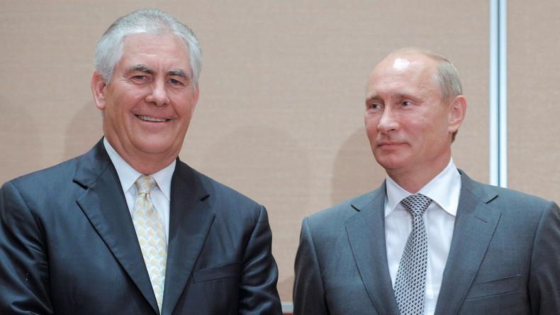 """""""Uns entgehen Ölgeschäfte"""": Exxon beantragt Ausnahme von Russland-Sanktionen bei US-Regierung"""