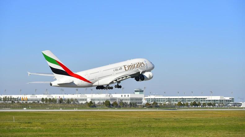 Emirates reduziert Flüge in die USA