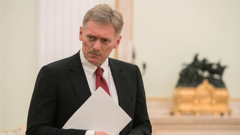 Kreml-Pressesprecher weiß nichts von Einmischung eines Forschungsinstituts in US-Wahlen