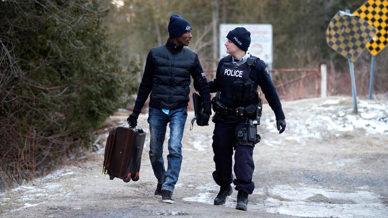 Kanada verzeichnet immer mehr illegale Einwanderer aus den USA