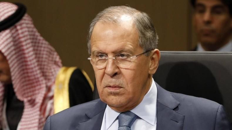 Russischer Außenminister kritisiert OPWC-Sperre des russischen Projekts zum Idlib-Giftgasvorfall