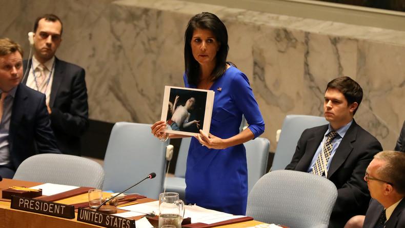 Menschenrechte als Vorwand: USA versuchen Kriege mit Hilfe des Sicherheitsrats zu legitimieren