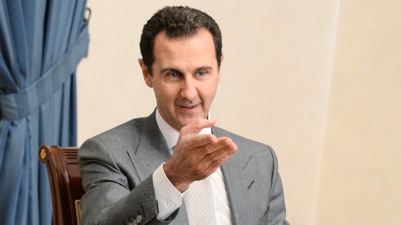 Präsident Assad: Invasion der Türkei und der USA in Syrien kommt Aktivitäten der Terroristen gleich