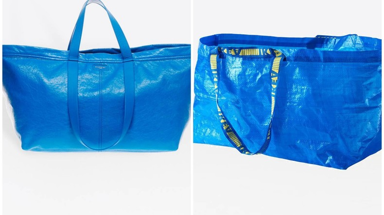 Einmal kneifen bitte: Französisches Modehaus verkauft Ikea-Tasche für 2.000 Euro