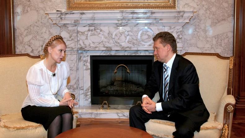 Kiew will Gazprom-Vermögen beschlagnahmen