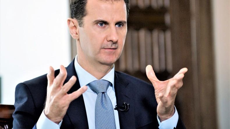 Präsident Syriens Baschar al Assad