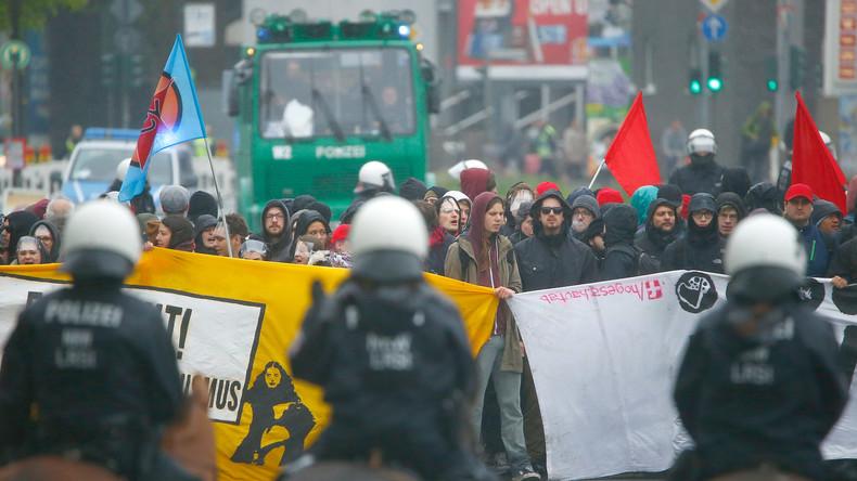 LIVE: Proteste gegen AfD-Parteitag in Köln