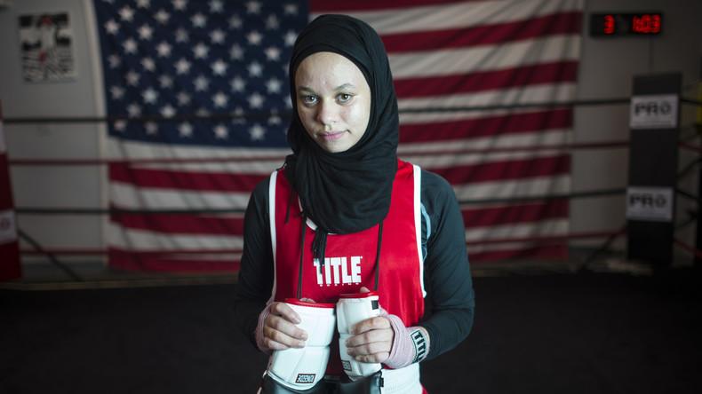 Muslimin aus Minnesota darf in Hidschab boxen