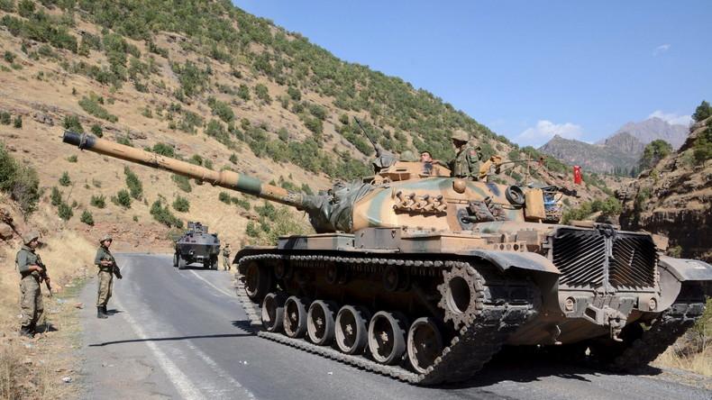 Zwei Soldaten fallen bei Gefechten mit PKK in Südosttürkei