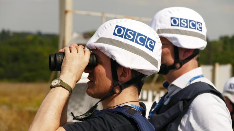 OSZE-Wagen fährt im Donbass auf Mine - US-Bürger tot, Deutsche verletzt
