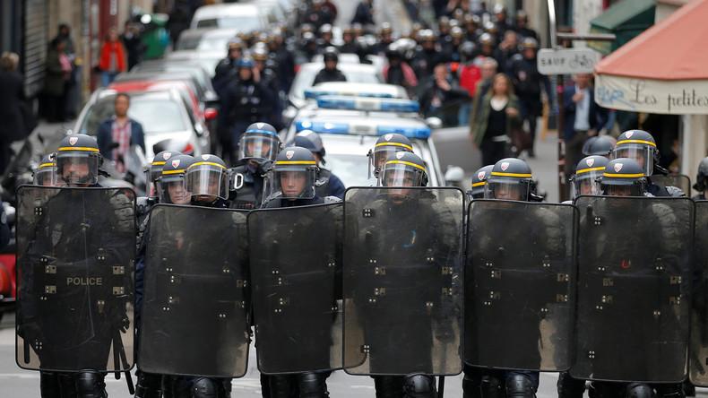 Live aus Paris: Massive Ausschreitungen bei Protesten am Abend der Präsidentschaftswahl