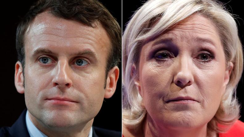 Emmanuel Macron und Marine Le Pen gehen in Stichwahl - breite Unterstützung für Macron
