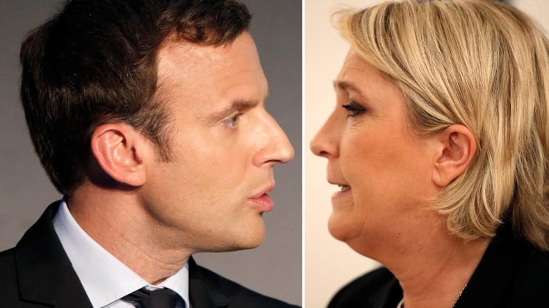 Macron und Le Pen gehen in Stichwahl ums Präsidentenamt in Frankreich