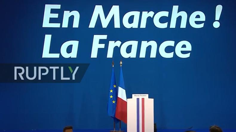 Live von den Präsidentschaftswahlen in Frankreich: Macron hält in Kürze Rede (engl. Übersetzung)