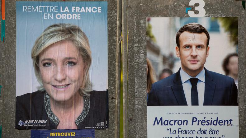 Frankreichs Innenministerium bestätigt: Macron gewinnt erste Runde der Präsidentschaftswahl