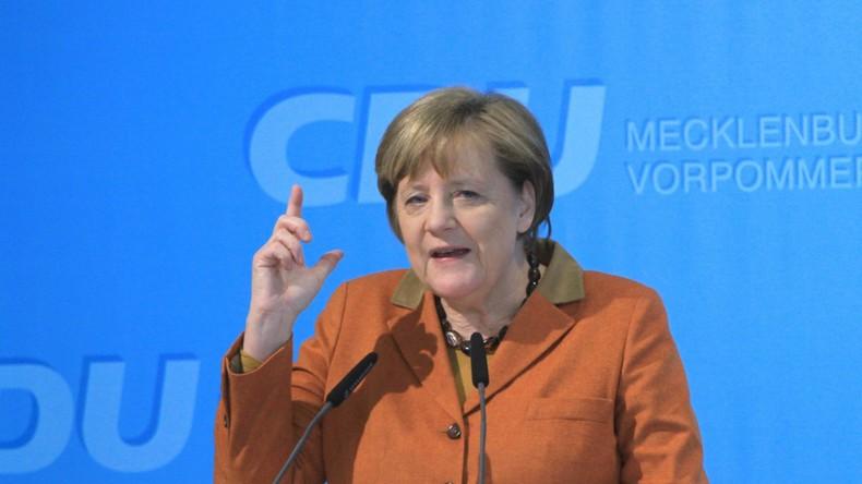 Angela Merkel sieht Chancen für Freihandelsabkommen mit den USA