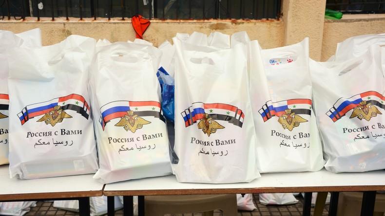 Russische Militärs führen acht humanitäre Operationen in Syrien durch