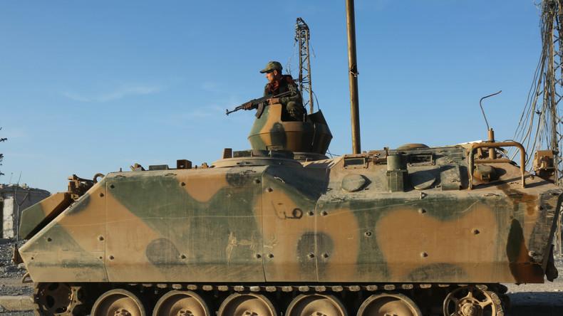 Militärquellen: Ankara bereitet weitere Intervention in Syrien vor