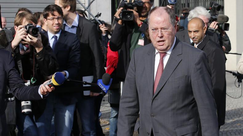 Berufliche Wandlung: Ex-Kanzlerkandidat Peer Steinbrück geht als Satiriker auf Tournee