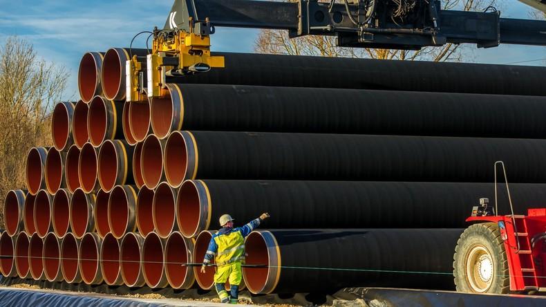 Fünf europäische Konzerne unterschreiben Vertrag mit Russland zur Finanzierung von Nord Stream 2