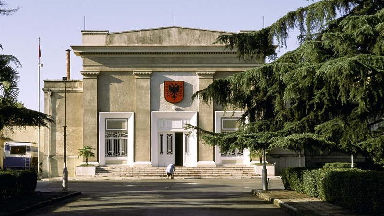 Straßenblockaden in Albanien